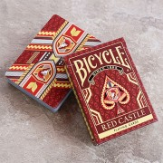 Bicycle Red Castle