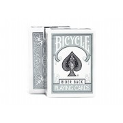 Bicycle Rider Back Silver