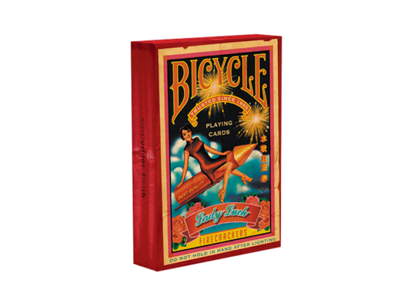 Bicycle-Firecracker Playing Cards
