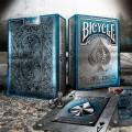 Bicycle Metal Deck Blue Edition