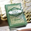 VISA Playing Cards Green Edition
