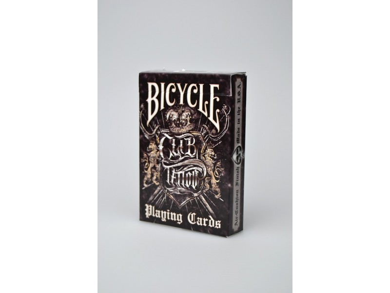 Bicycle club tattoo for Bicycle club tattoo deck