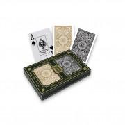 KEM Black / Gold Poker Size