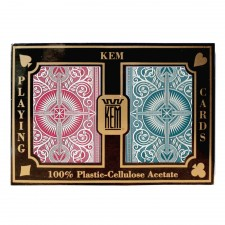 KEM Red/Blue Poker wide standard index