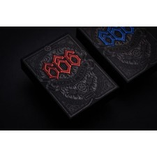 666 Playing Cards Red