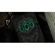 666 Playing Cards Green