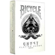 Bicycle White Ghost Invisible