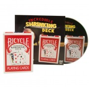 Bicycle Incredible Shrinking Deck + DVD
