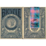 Bicycle Silver Certificate Branded